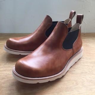 オーダー靴 サイドゴアブーツ
